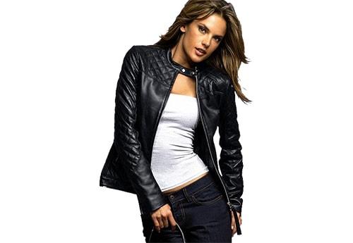 5. Black Leather Jacket