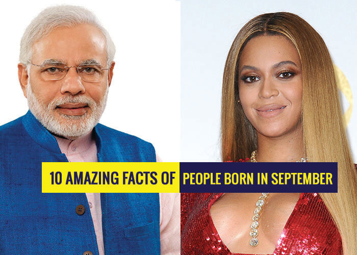 Amazing Facts Of People Born In September