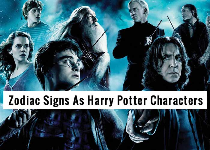 zodiac signs as harry potter characters, harry potter zodiac signs, which harry potter character are you