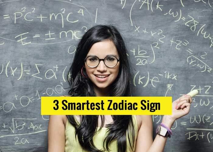 smartest zodiac sign, smart zodiac signs