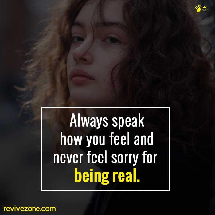 Always-speak-how-you-feel