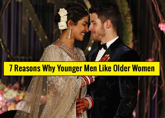 7 Reasons why younger men like older women