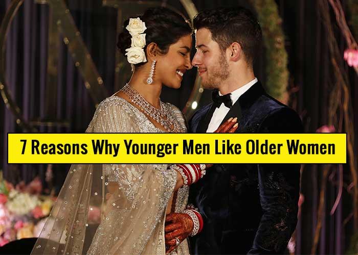 Why do some men like older women