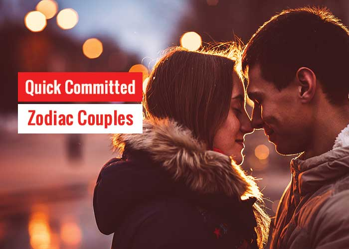 Quick Committed Zodiac Couples According To Astrology