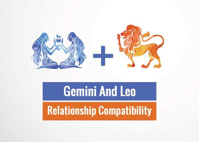 Gemini And Leo Relationship Compatibility