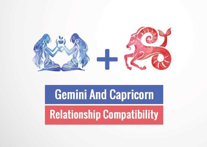 Gemini And Capricorn Relationship Compatibility