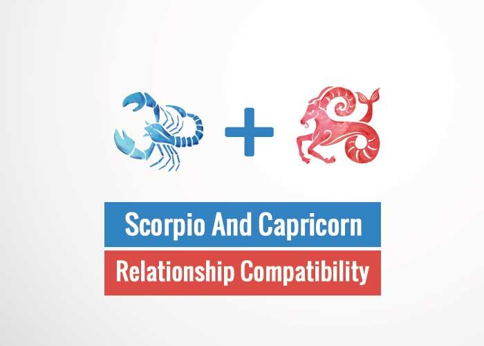 Scorpio And Capricorn Relationship Compatibility
